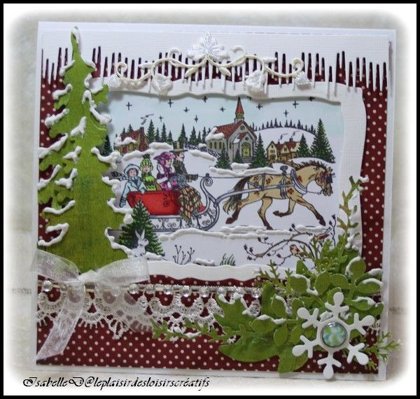 "Carte ""Sleigh Ride"""
