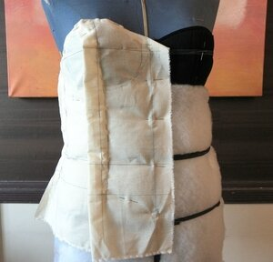 Bustier toile
