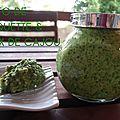 Pesto de roquette & noix de cajou (au thermomix ou pas ...)