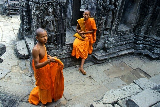 cambodge_angkor_moines_couple