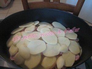 Etouffé de pommes de terre et saucisse fumées18