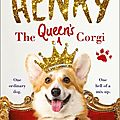 Henry the queen's corgi - georgie crawley