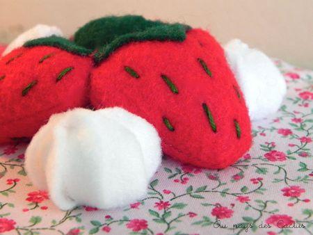 Gâteau en tissu dînette feutrine Au pays des Cactus 5