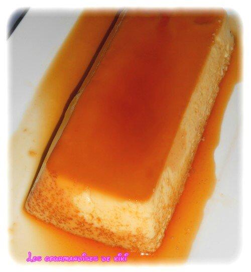 Flan caramel