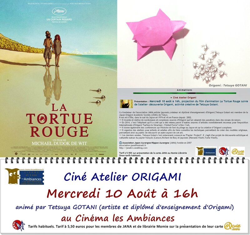 Ambiances origami Tortue