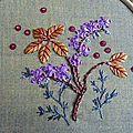 Fleur août violette #8