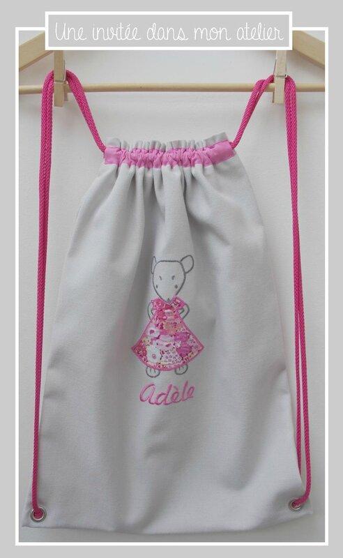 sac à dos pour enfants-personnalisé-Liberty-thorpe rose