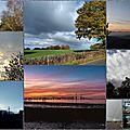 Petit coin de ciel du lundi 13 novembre : mosaïque de nos ciels