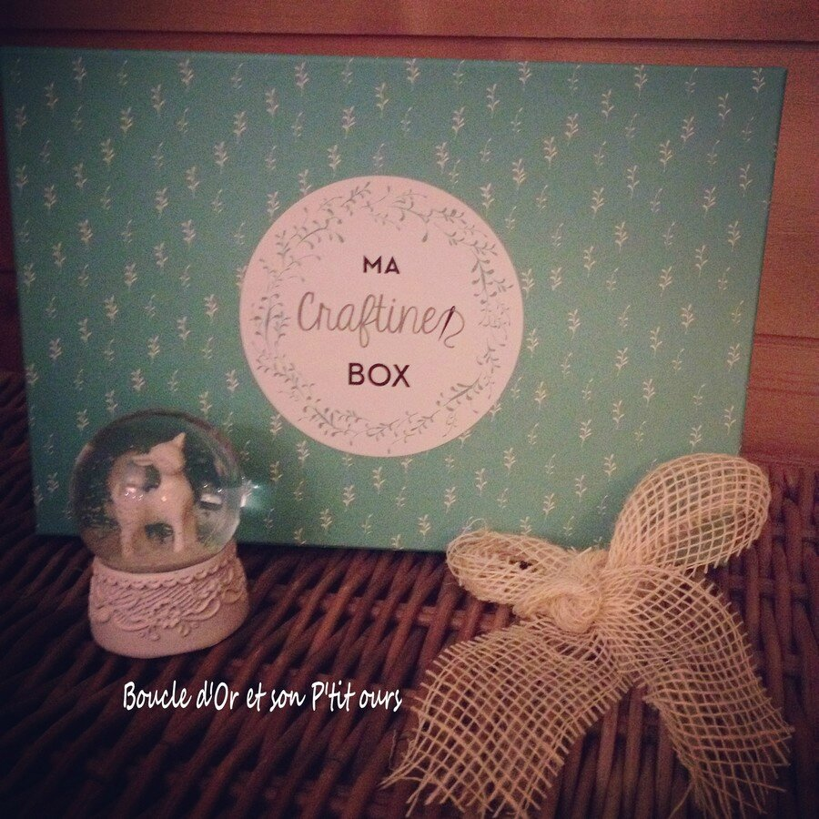 J'ai testé La Craftine Box [box couture]