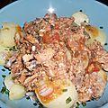 Salade de pomme de terre et sardines