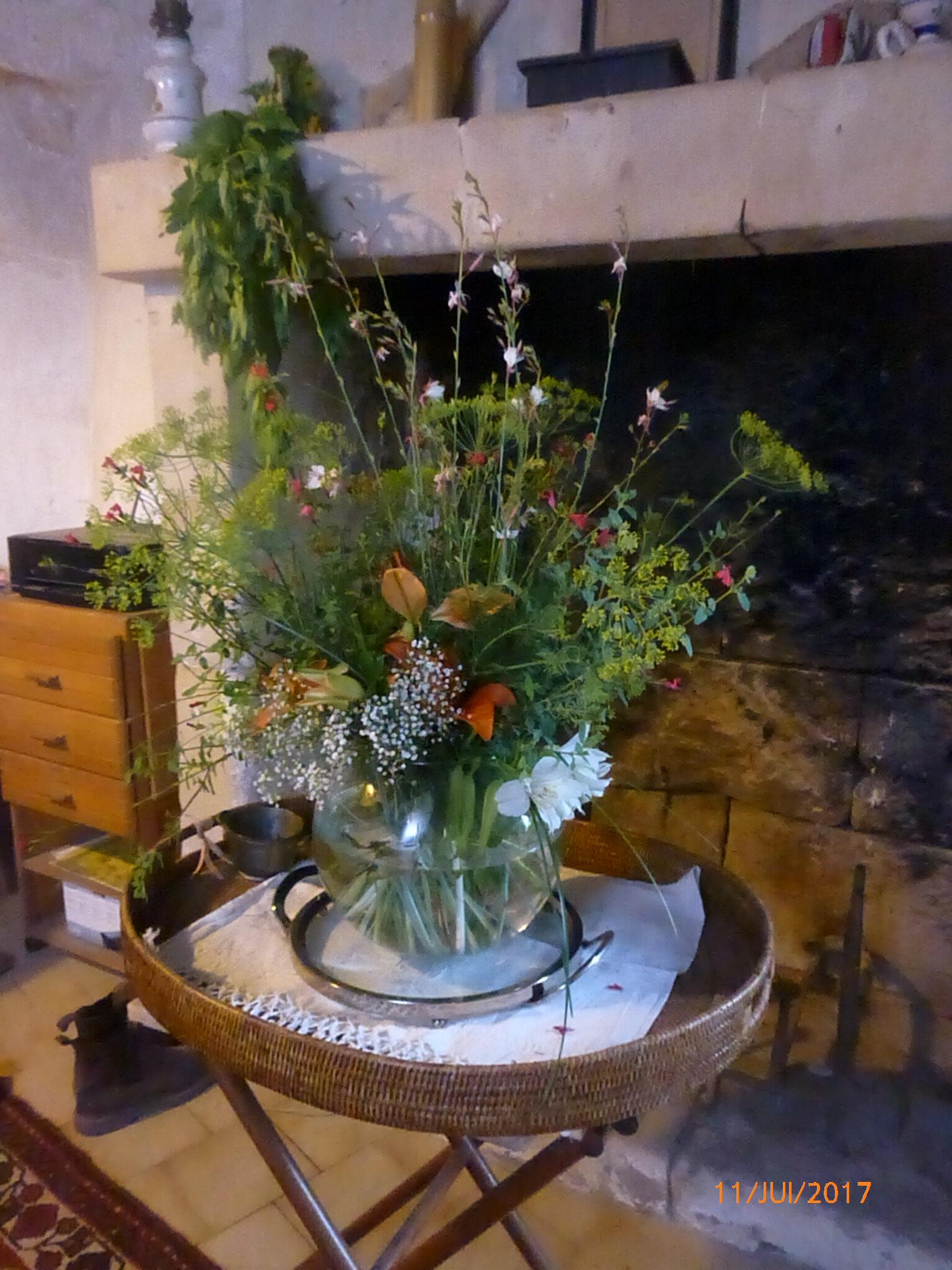 Bouquets fous de joie