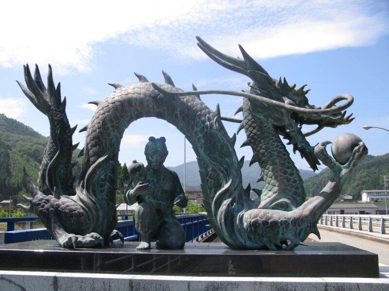 Dragon japonais photo de 52 bestioles carnet de gares - Dragon japonais ...