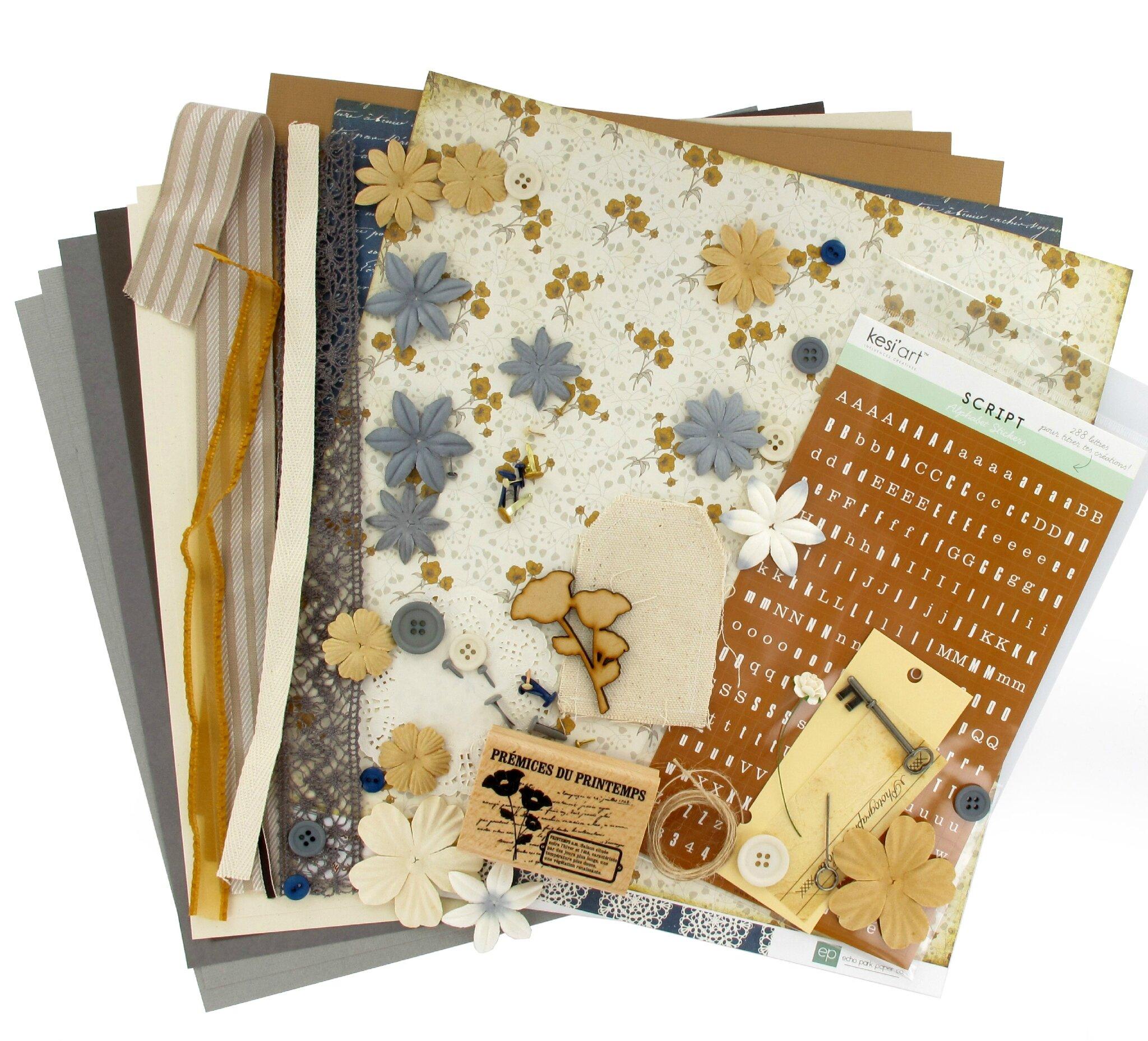 """Kit atelier """"Multi-albums"""" de mars 2014 (1ère version) par Géraldine"""