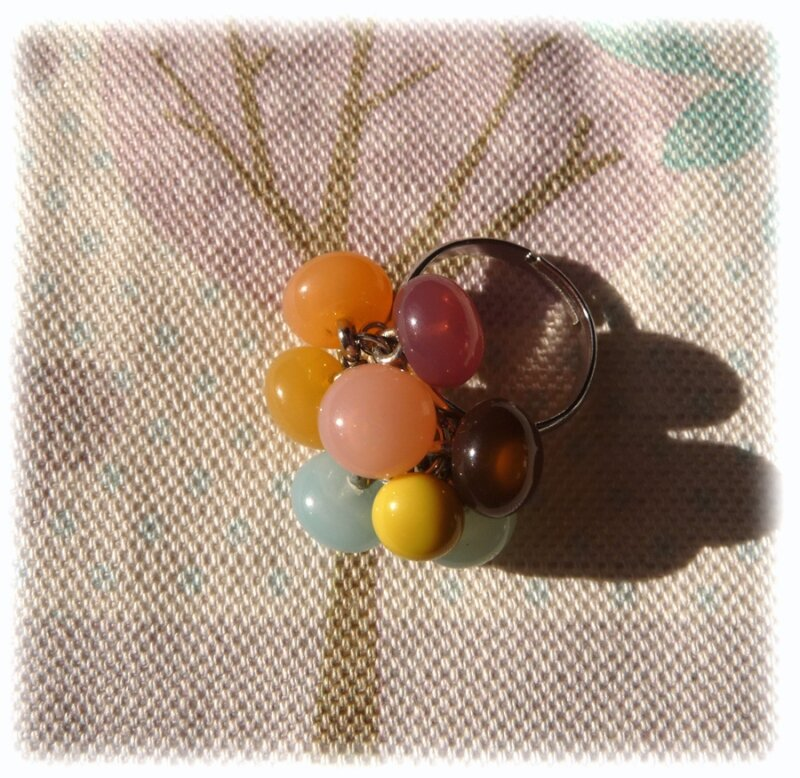 Bague fruits