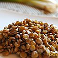 Lentils with Green Onions