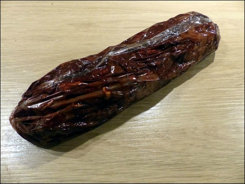 saucisson chocolat boudin