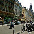 Rue du faubourg Saint-Martin.