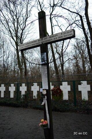 Mémorial aux victimes du mur - Porte de Brandebourg - Berlin