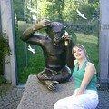 Aurore et le singe de bronze
