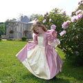 Robe de princesse sur-mesure... a la demande !