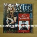CD promotionnel Alice-version anglaise (2010)