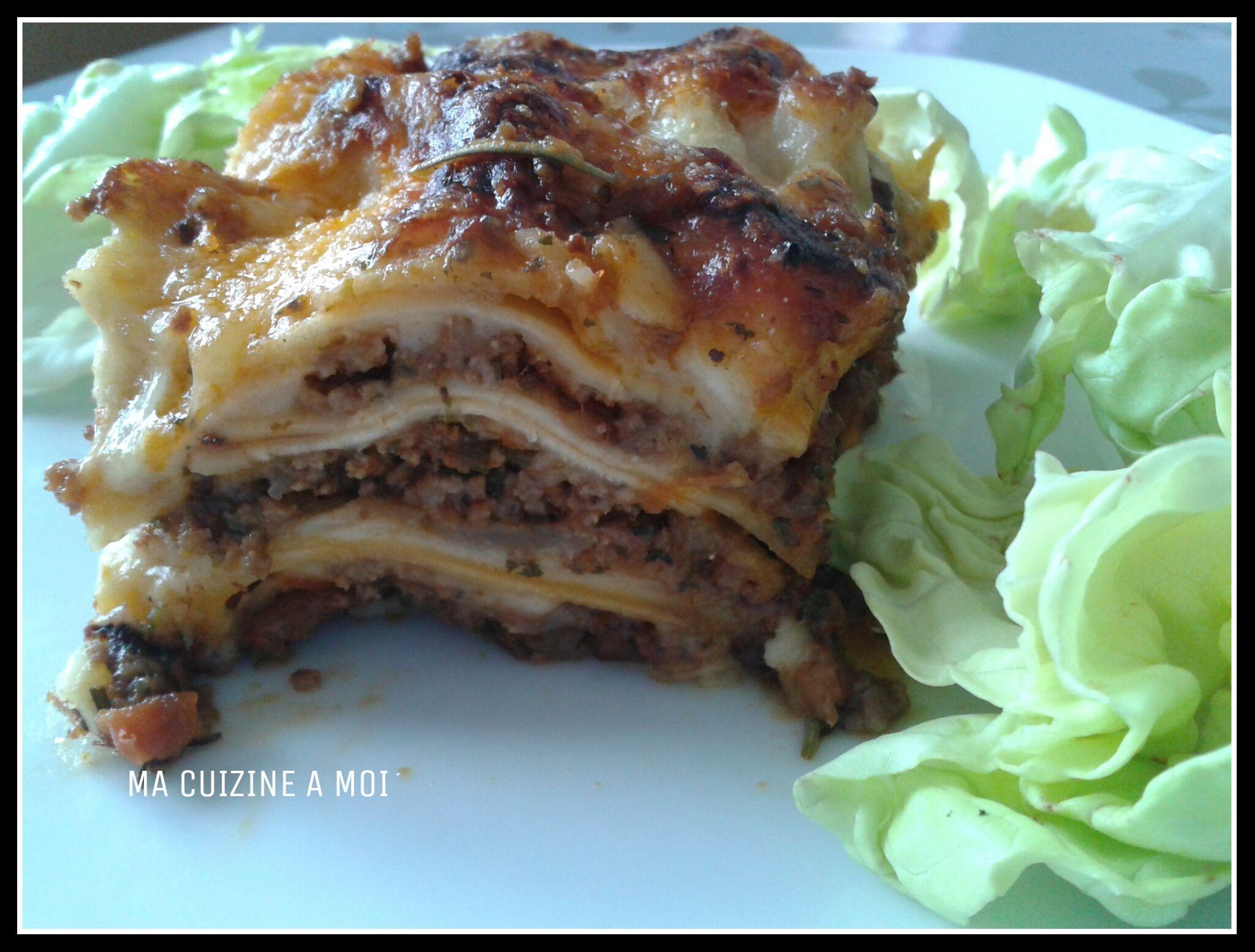 V ritables lasagnes l 39 italienne blogs de cuisine - Cuisine italienne blog ...