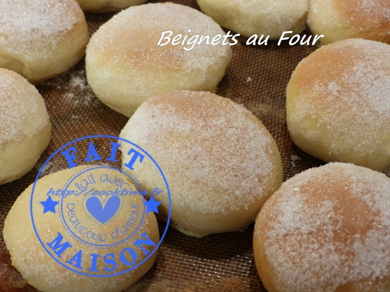 Beignets au four au thermomix 1