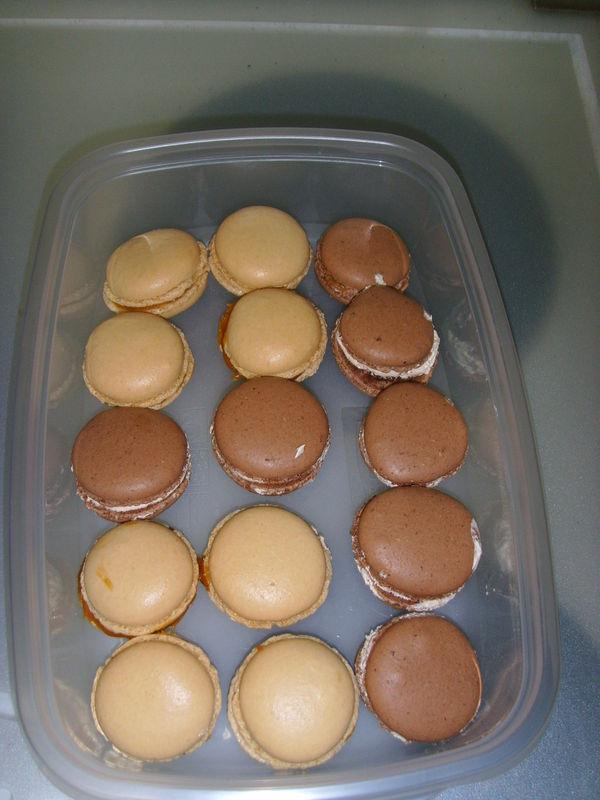 Pot de départ, cadeau reçu: un cours chez Ritz-Escoffier sur les macarons