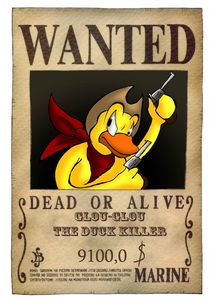 Glou-Glou the duck Killer !!! lol