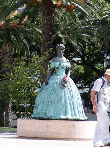 Statue de Sissi, Funchal