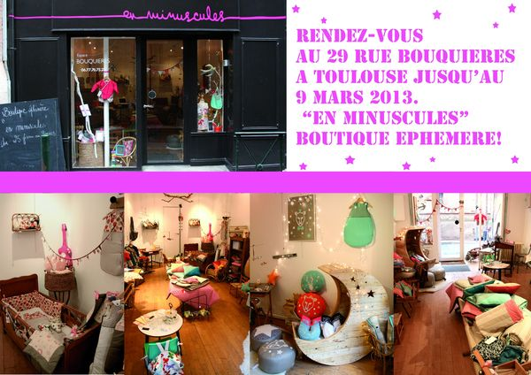 Boutique en minuscule