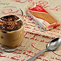 Verrine au café, chocolat & speculoos pour mon partenaire buroespresso