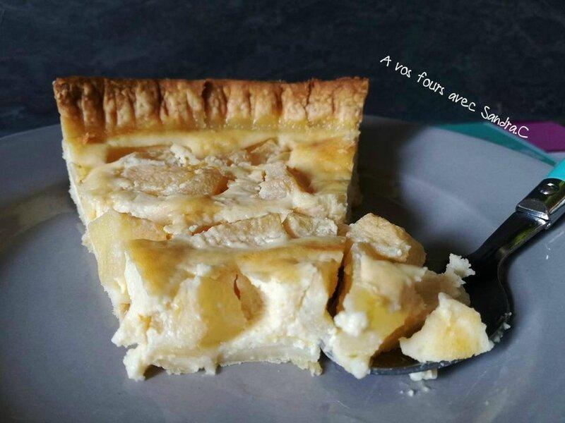 tarte aux poires 1