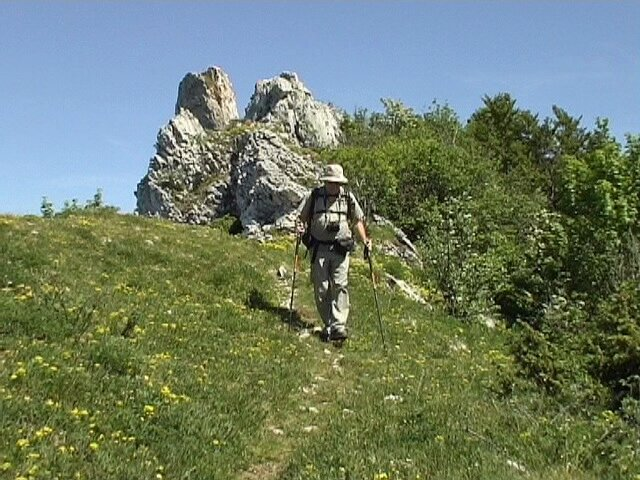 Crêtes du Grand Colombier 1531 m - Bugey