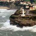 Le phare de Biarritz