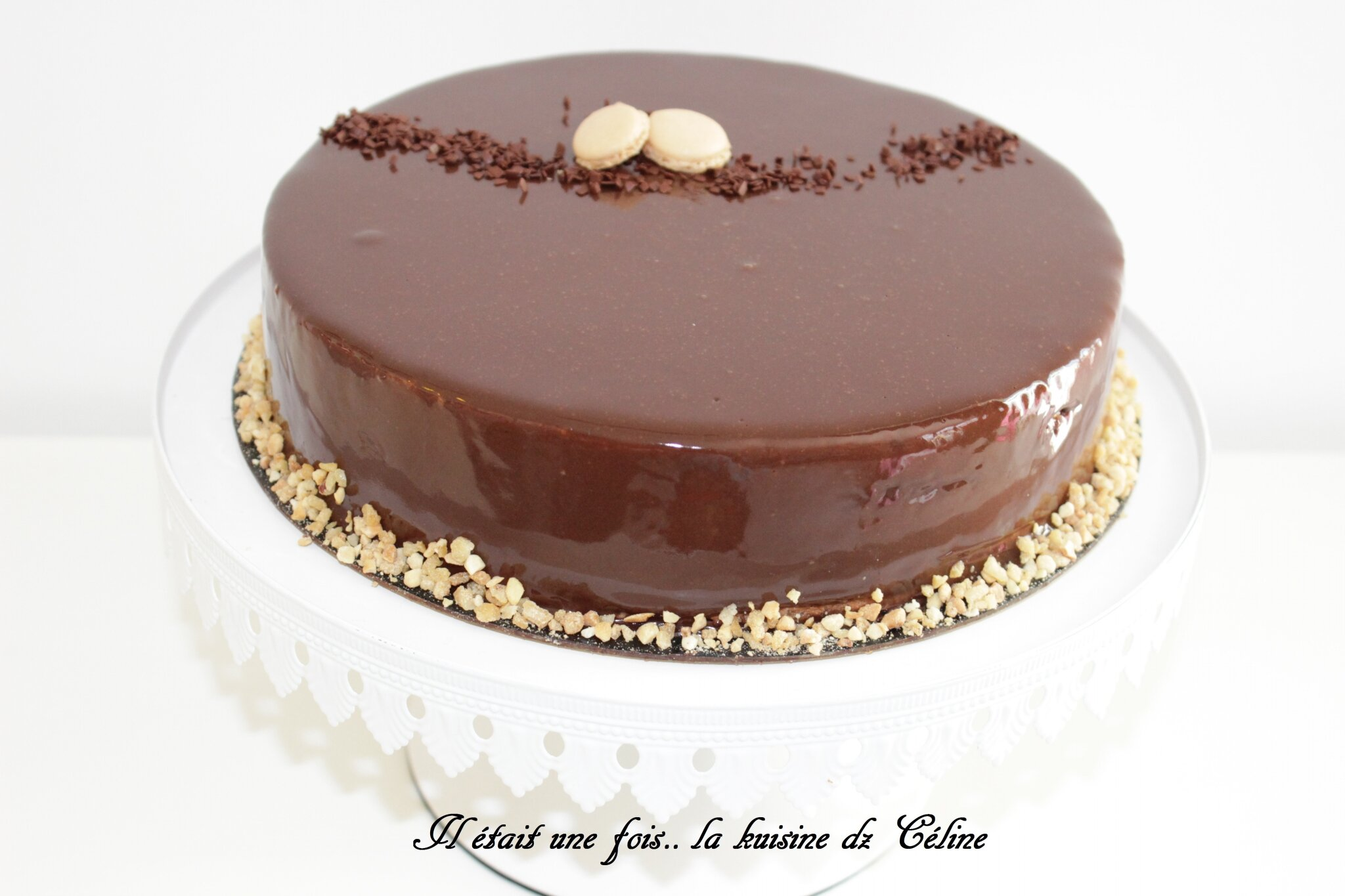 Entremet chocolat noisette { recette CAP }