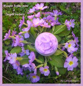 masque bone mine l 39 argile violette carosmetiques. Black Bedroom Furniture Sets. Home Design Ideas