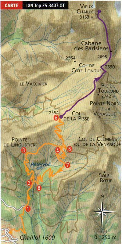 Ascension du Vieux Chaillol 3163m 14 juillet 2011