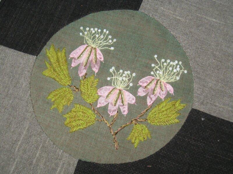 Fée Pirouette - L'herbier - Juin rose - BOM 2010