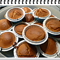 Muffin pommes caramel