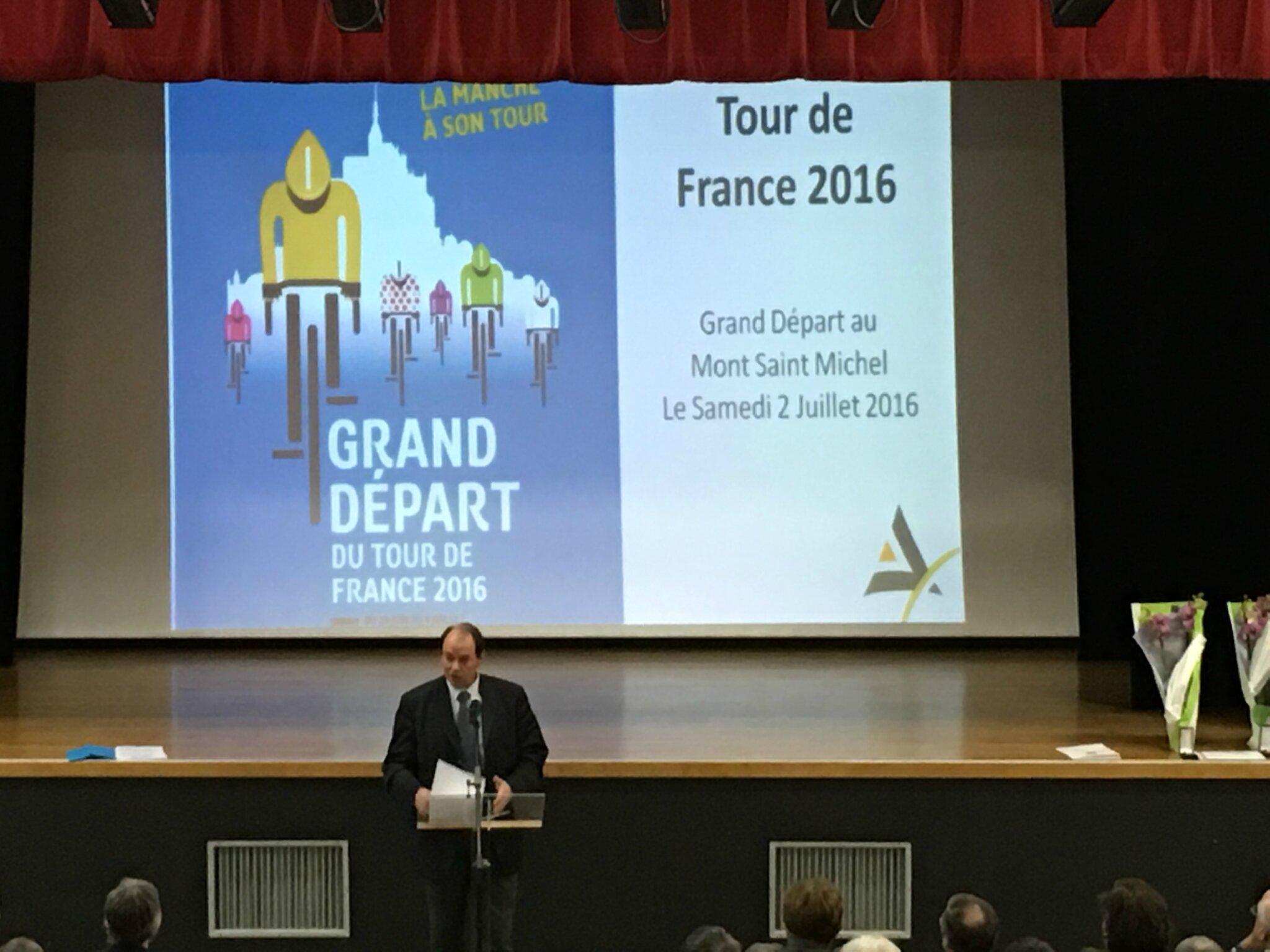cérémonie des voeux 2016 de la communauté de communes Avranches Mont-Saint-Michel