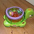 Tortue roll a rounds fisher price (claire)