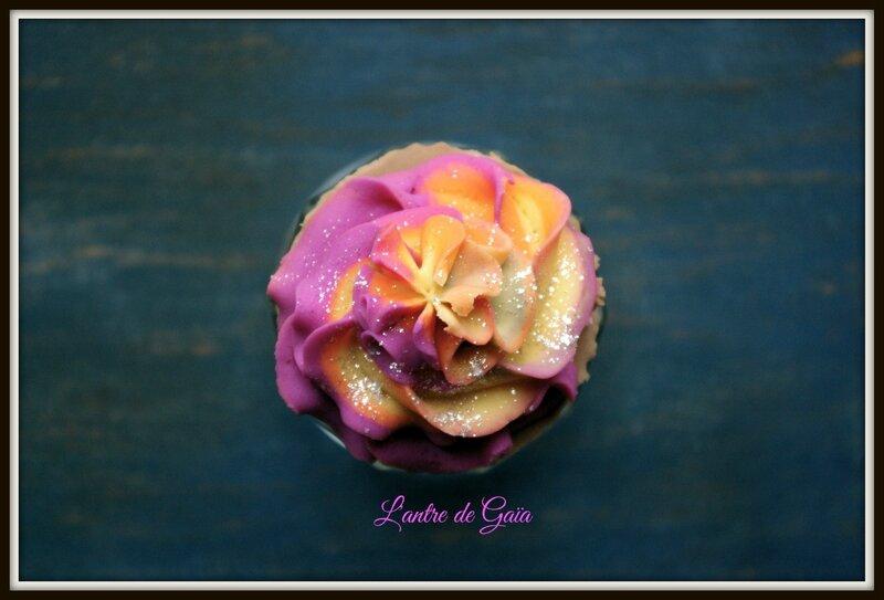 Recette de savons cupcakes bicolores