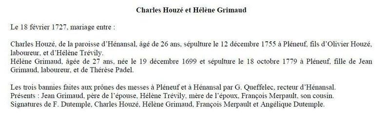 Février 1727 bannies faites par Guillaume_1