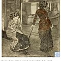 Degas - cassatt