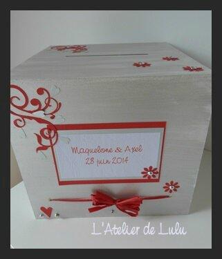 urne mariage tous les messages sur urne mariage l. Black Bedroom Furniture Sets. Home Design Ideas