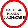 Plagiat culinaire, le nouveau fléau