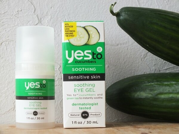 2 Soothing Eye Gel Yes To Cucunbers