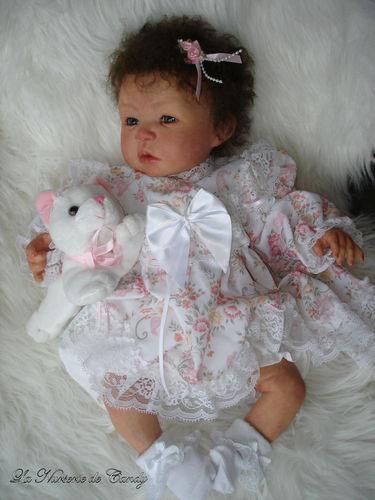 Souvent bébé reborn cheveux bouclés - Photo de 0.12 Eden - Bebe reborn  YF28