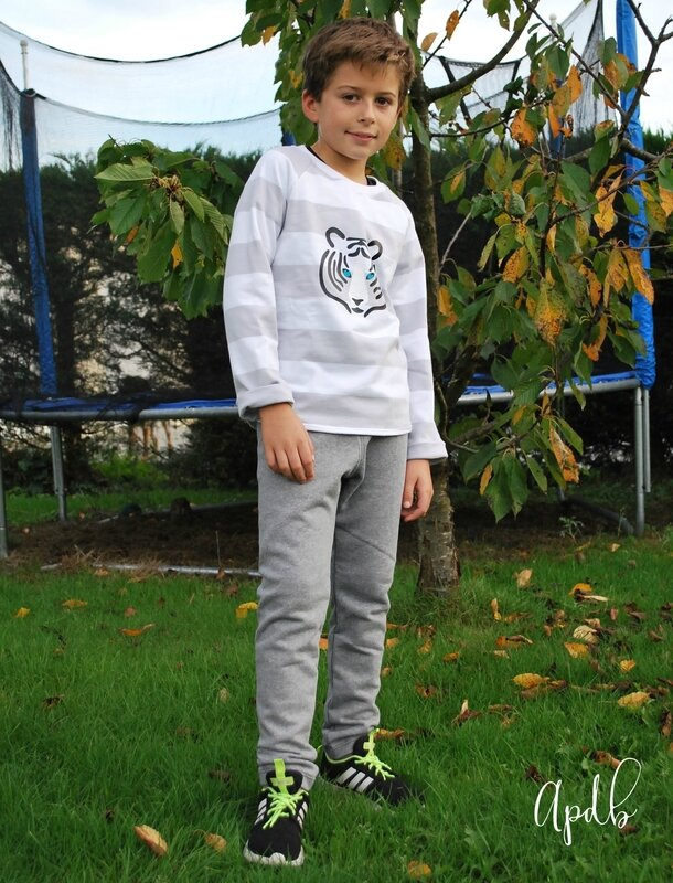 Jogging garçon Au pays des bulles-005